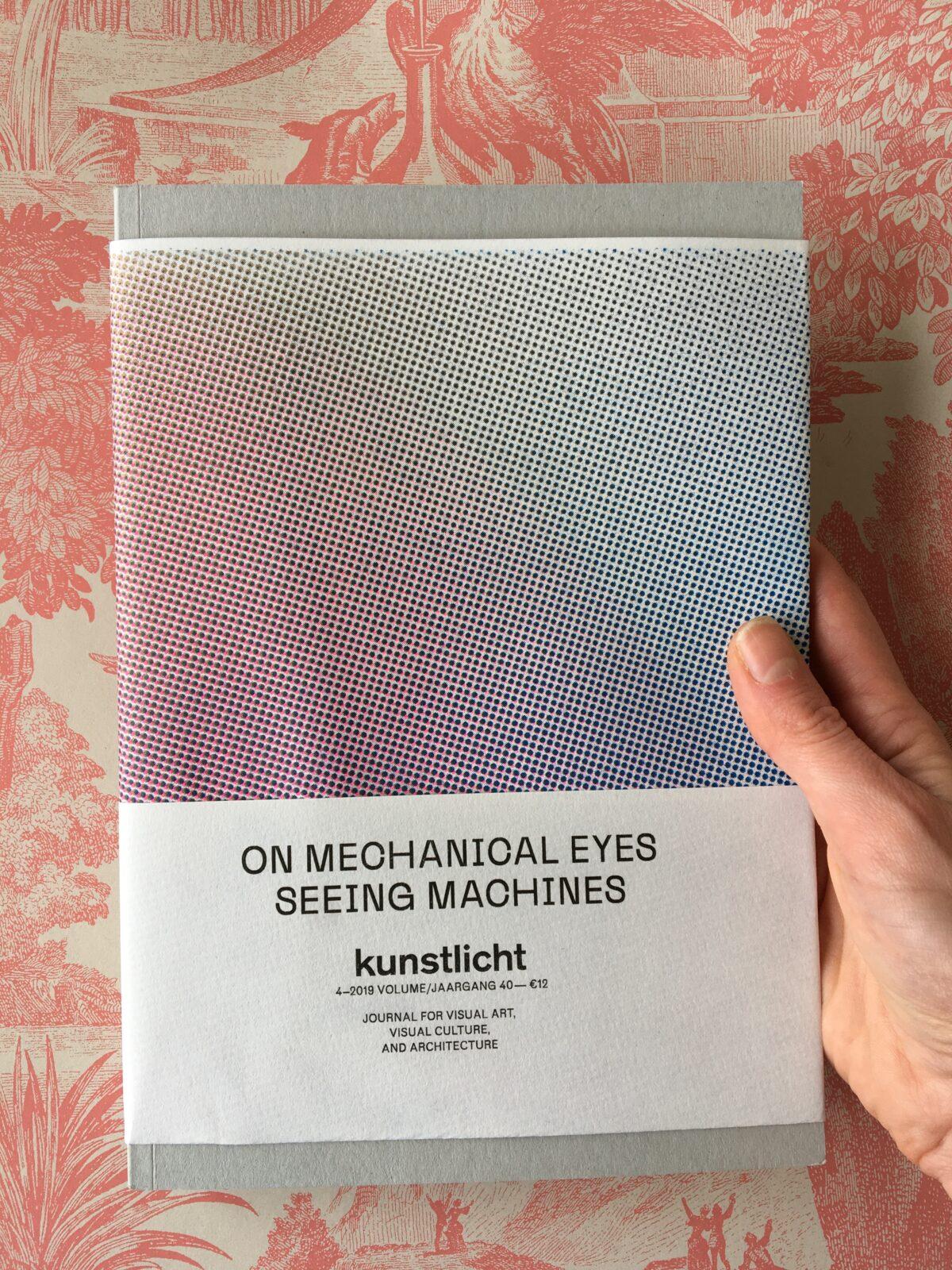 VOL. 40 NO. 4, 2019, ON MECHANICAL EYES: SEEING MACHINES
