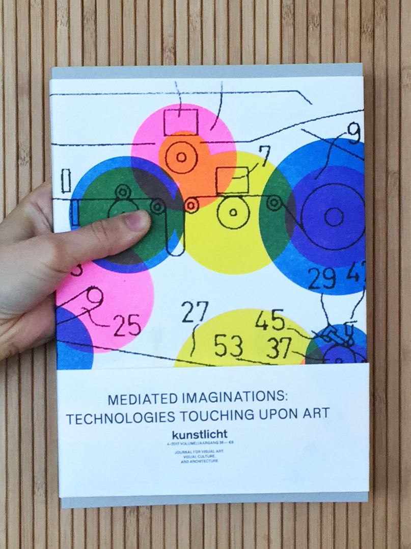 VOL. 38, 2017, NO. 4, MEDIATED IMAGINATIONS: TECHNOLOGIES TOUCHING UPON ART