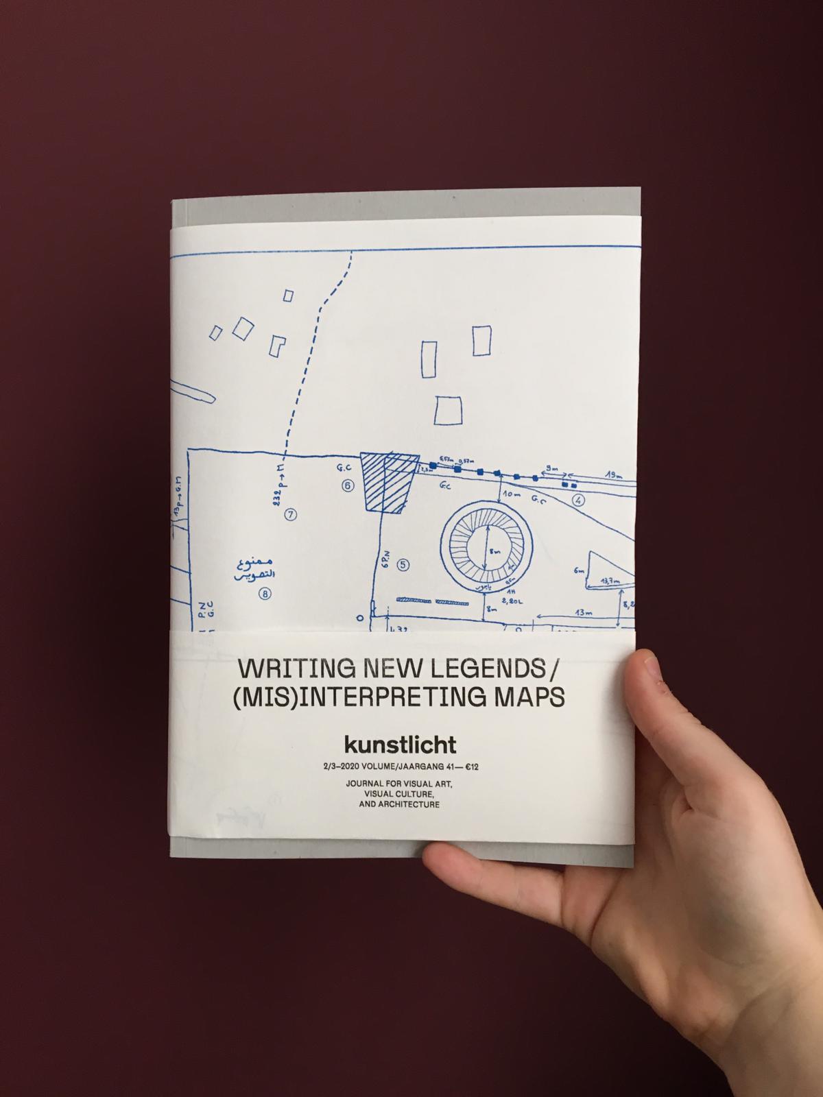 VOL. 41 NO 2-3, 2020, WRITING NEW LEGENDS / (MIS)INTERPRETING MAPS