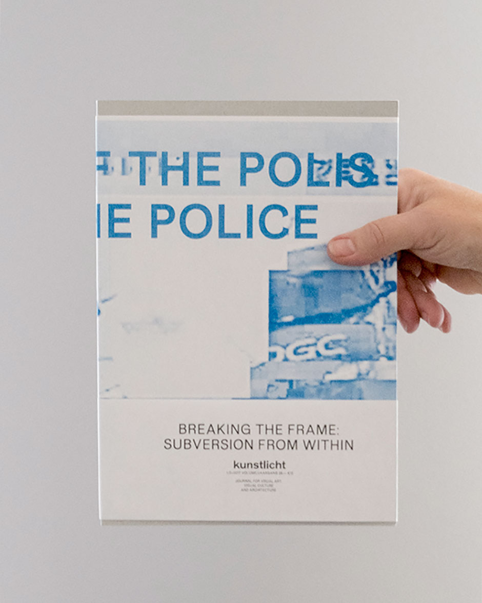Vol. 38, 2017 no. 1/2, Breaking the Frame: Subversion from Within